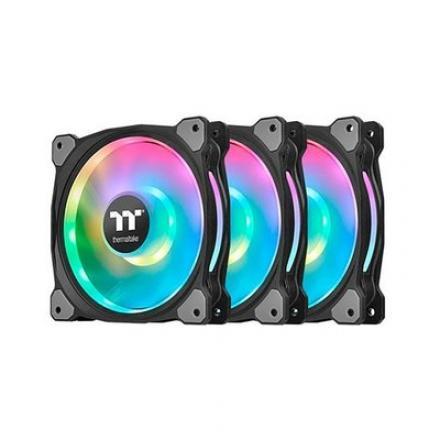VENTILADOR 120X120 THERMALTAKE RIING DUO 12 RGB TT 3-UDS - Imagen 1