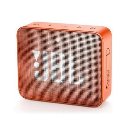 ALTAVOZ JBL GO2 CORAL ORANGE BLUETOOTH - Imagen 1