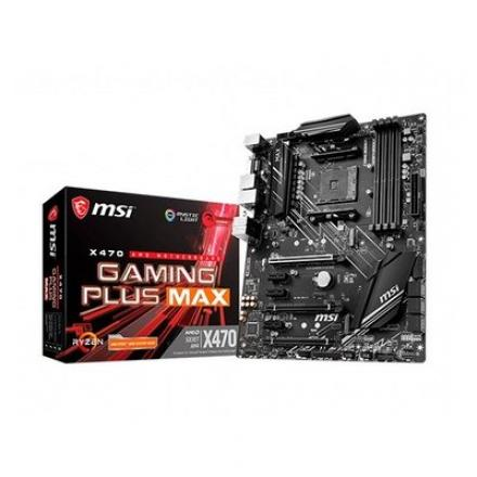 PB MSI AM4 X470 GAMING PLUS MAX ATX/4xDIMM/1xDVI-D 1xHDMI/6 - Imagen 1
