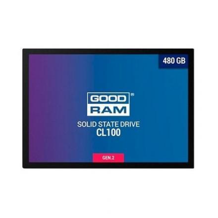 DISCO DURO 2.5  SSD 480GB SATA3 GOODRAM CL100 GEN.2 - Imagen 1