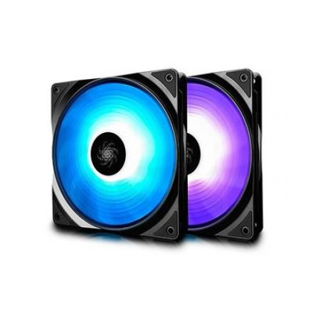 VENTILADOR 140X140 DEEPCOOL RF 140 RGB 2 IN 1 - Imagen 1