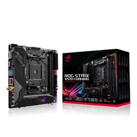 PLACA BASE ASUS AM4 ROG STRIX X570-I GAMING - Imagen 1