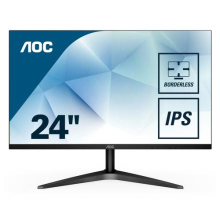 MONITOR LED IPS 23.8  AOC 24B1XHS NEGRO - Imagen 1