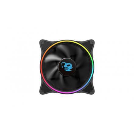 Coolbox Ventilador Aux Deepgaming 12cm A-rgb Doble Aro - Imagen 1