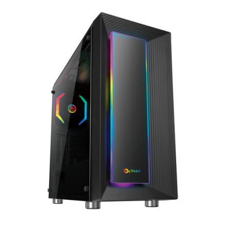 Talius Caja Atx Gaming Auriga Cristal Templado Usb 3.0 - Imagen 1