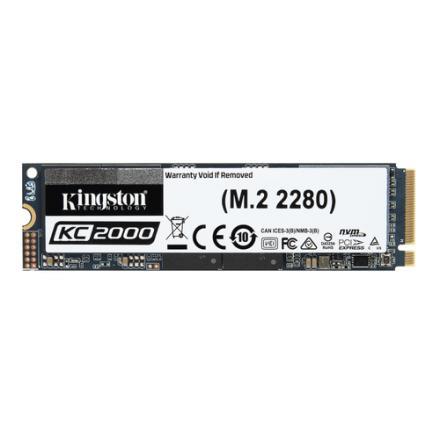 DISCO DURO M2 SSD 2000GB PCIE KINGSTON KC2000 NVMe 2280 - Imagen 1