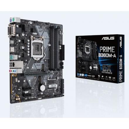 Pb Asus Lga1151 Prime B360m-a Matx 4xddr4 Usb 3.1 M.2 - Imagen 1