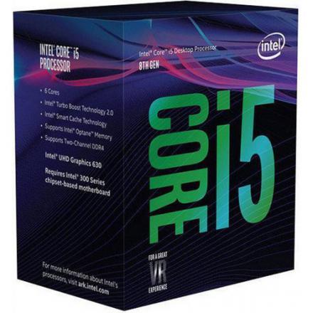 Cpu Intel Lga1151 I5 8600k 3,6ghz 9mb Cache Box - Imagen 1