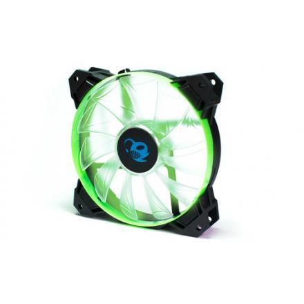 Coolbox Ventilador Auxiliar 120mm Led Verde Deepgaming Deepwind - Imagen 1