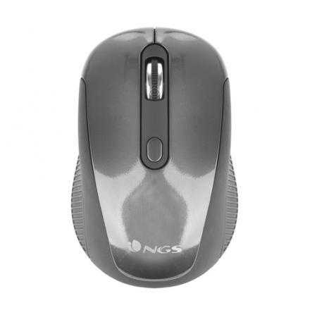 Ngs Raton Optico Black Haze Wireless 1600dpi Grafito - Imagen 1