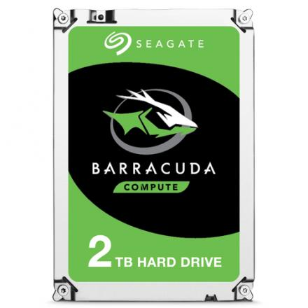 "Hd Seagate 3.5"" 2tb Barracuda Sata 6gb/s 7200rpm 256mb - Imagen 1"