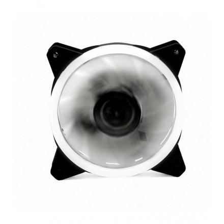 Ventilador Phoenix Led Blanco Gaming 120mm Doble Anillo - Imagen 1