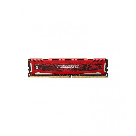 Memoria crucial ddr4 8gb Pc2666 C16 Oc 1x8gb,ballistix Sort Lt Red - Imagen 1