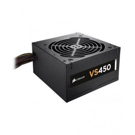 Fuente Alimentacion Corsair Builder Vs450 450w Ventilador120mm Eficiencia 85% 450w - Imagen 1