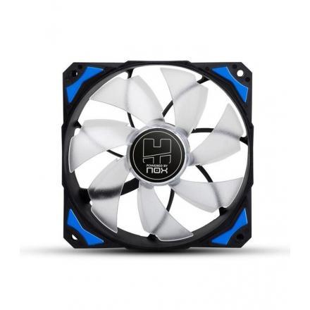 Nox Ventilador Caja Hummer Hfan Led Azul 12x12 - Imagen 1