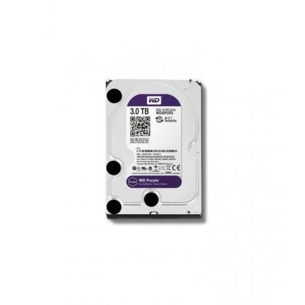 "Hd Western Digital 3.5"" 3tb Purple Surveillance 64mb Wd30purz - Imagen 1"