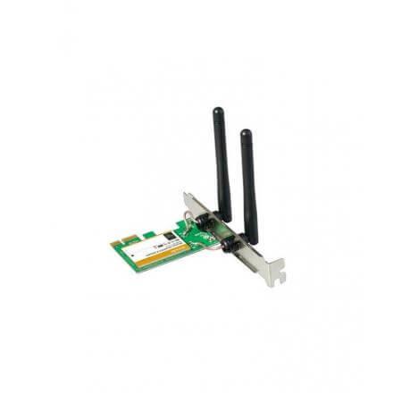 Tenda Tarjeta De Red Wifi 322e Pci-express Wifi 802.11n 300mbps Antena 2x2.5dbi - Imagen 1