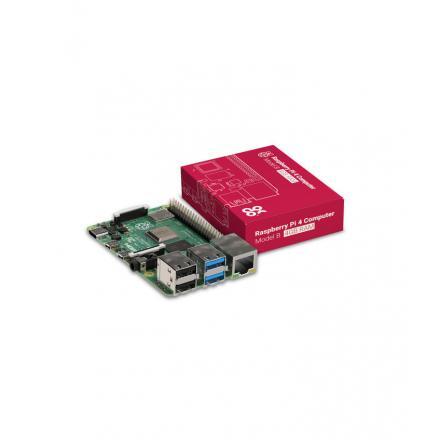 Raspberry Board Pi 4  Cpu2.4ghz/4gb/usb3.0/hdmi/bt/wifi - Imagen 1