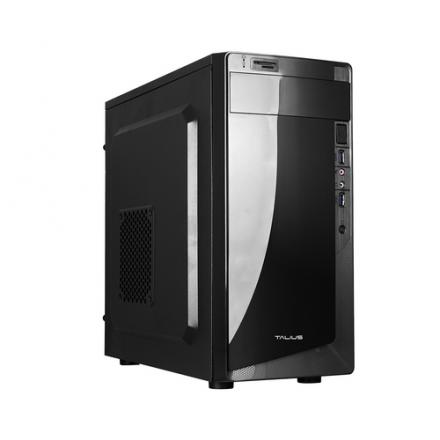 Talius Caja Micro-atx Denver Negra 500w Usb 3.0 Con Lector Tarjetas - Imagen 1