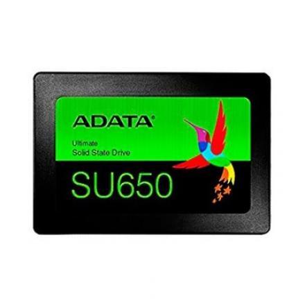 DISCO DURO 2.5  SSD 960GB SATA3 ADATA SU650 3D NAND NEGRO - Imagen 1