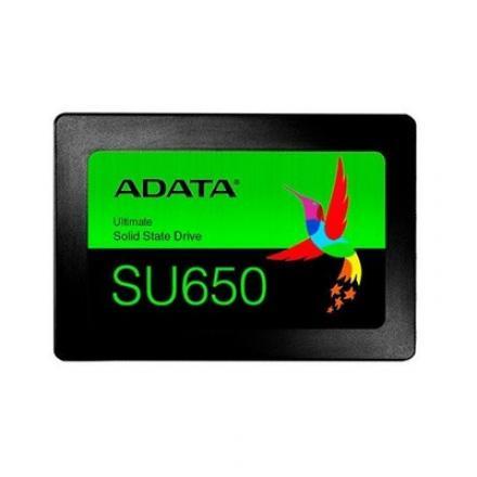 DISCO DURO 2.5  SSD 480GB SATA3 ADATA SU650 3D NAND NEGRO - Imagen 1