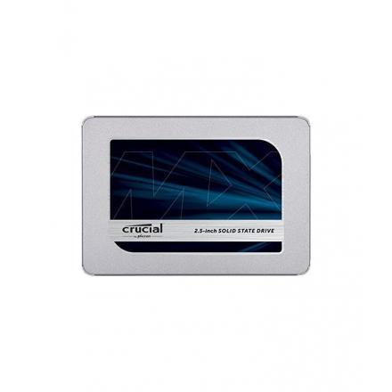 Ssd Crucial 500gb Mx500 2.5 Ct500mx500ssd1 560mb W:510mb, 95/90k Iops - Imagen 1