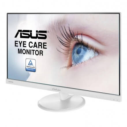 "MONITOR ASUS 23"" VC239HE-W,WLED/IPS,FHD,VGA+DVI+HDMI,ALTAVOCES BLANCO"