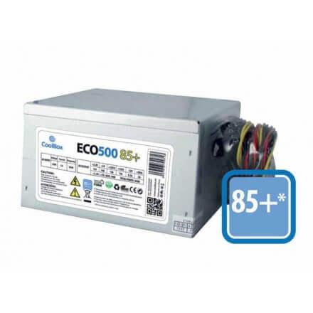 COOLBOX FUENTE ALIMENTACION ATX 500W ECO+ 85% EFI - Imagen 1