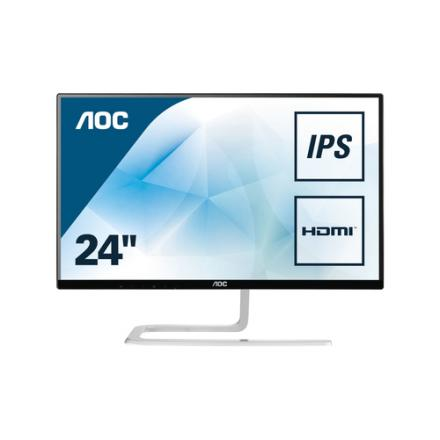 "Monitor Aoc 23.8"" I2481fxh ,ips,16:9,250cd/m2 50m:1,4ms,vga,hdmi, Negro - Imagen 1"