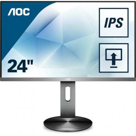 """Monitor Aoc 27"""" I2790pqu/bt  16:9,vga,hdmi,usb, Dp, Altavoces - Imagen 1"""