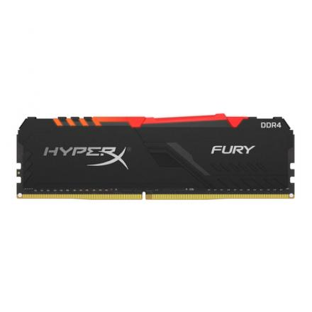 MODULO MEMORIA RAM DDR4 8GB PC3600 KINGSTON HYPERX FURY RGB - Imagen 1