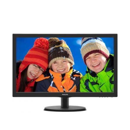 "Philips Monitor 21.5"" V-line 223v5lhsb2 Led,vga,hdmi,fullhd,5ms,10m:1,200cd/m2 - Imagen 1"