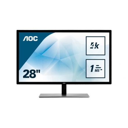"Monitor Aoc 28"" U2879vf D-sub , Dvi , Hdmi - Imagen 1"