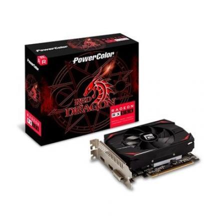 TARJETA GRÁFICA POWERCOLOR RED DRAGON RX550 4GB GDDR5 - Imagen 1