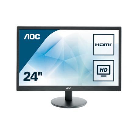 """Monitor Aoc 23.6"""" E2470swh Dvi/hdmi/ - Imagen 1"""