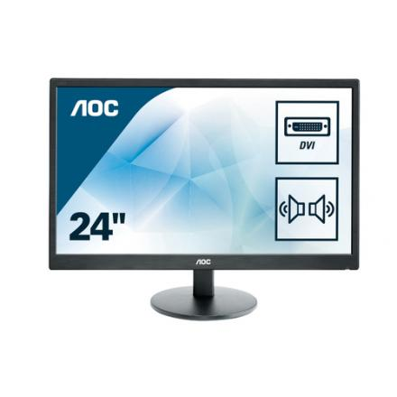 Monitor Aoc 23.6\1 E2470swda Led Dvi Multimedia - Imagen 1