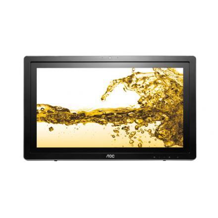 "Monitor Aoc 23.6"" I2472pwhut/bk Ips Tactil Hdmi - Imagen 1"