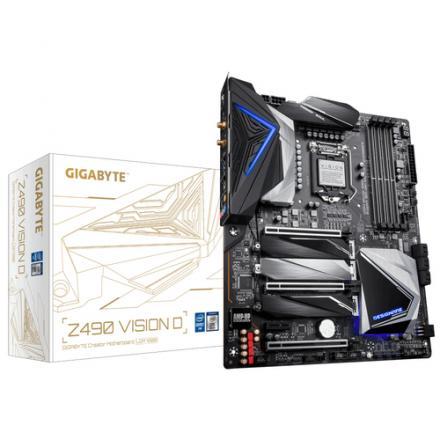 PLACA BASE GIGABYTE 1200 Z490 VISION D 1.1 - Imagen 1