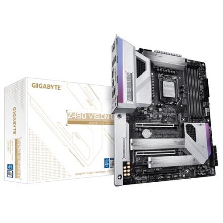 PLACA BASE GIGABYTE 1200 Z490 VISION G 1.1 - Imagen 1