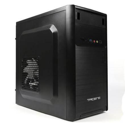 TACENS CAJA PC NOVUM MICROATX NEGRO 1xUSB3.0 1xUSB2.0 4 SLOTS EXPANSION VENTI. 120mm SIN FUENTE DE ALIM - Imagen 1