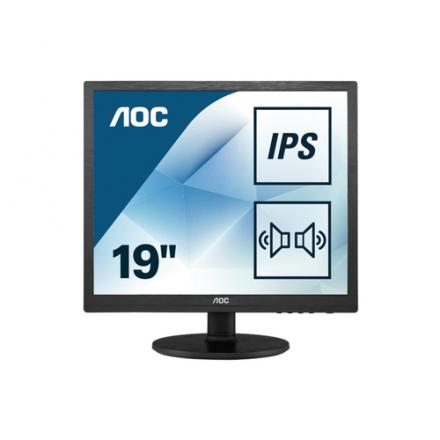 Monitor Aoc 19\1 Ips I960srda 4:30,50m:1,altavoces,vga,dvi,hdmi,1280x1024 - Imagen 1
