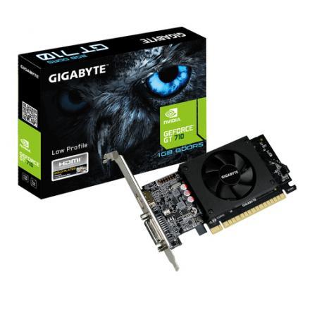 TARJETA GRÁFICA GIGABYTE GT 710 1GB GDDR5 - Imagen 1