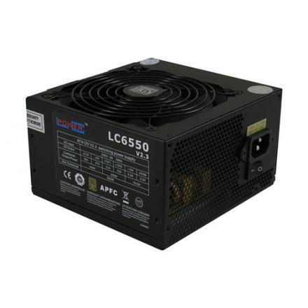 Lc-power Lc6550 V2.3 Unidad De Fuente De AlimentaciÓn 550 W 20+4 Pin Atx Atx Negro - Imagen 1