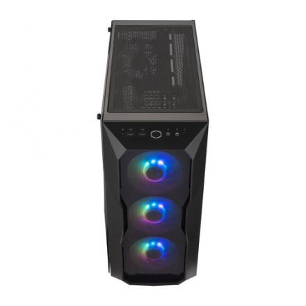 TORRE E-ATX COOLERMASTER MASTERBOX TD500 ARGB NEGR - Imagen 1
