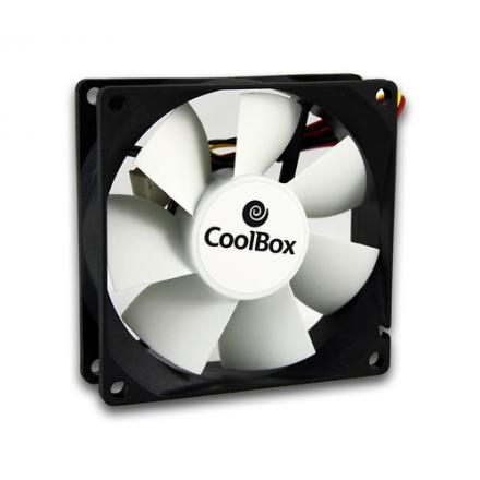 Coolbox Ventilador Auxiliar 8 Cm Eos C-8 Silent Fan - Imagen 1