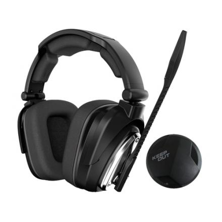 AURICULARES MICRO KEEP OUT GAMING HXAIR 7.1 NEGRO - Imagen 1