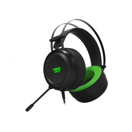 AURICULARES MICRO KEEP OUT GAMING HX10 7.1 NEGRO - Imagen 1