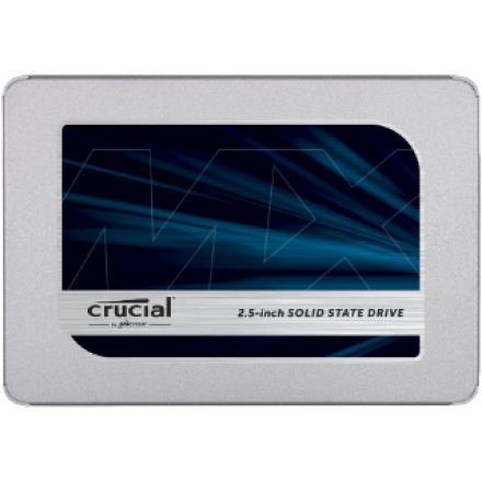 Ssdcrucial 2,5 1tb Mx500 Sataiii 3d (6.3cm 7mm) R:560mb W:510mb, 95/90k Iops - Imagen 1