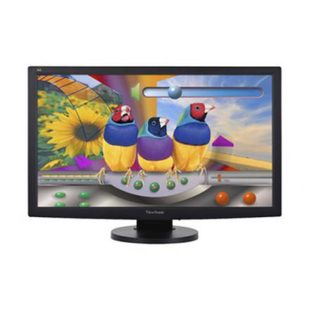 Monitor Viewsonic 23.6\1 Vg2433-led Pivotante 1920 X 1080 Full Hd (1080p)  Dvi-d, Vga Negr - Imagen 1