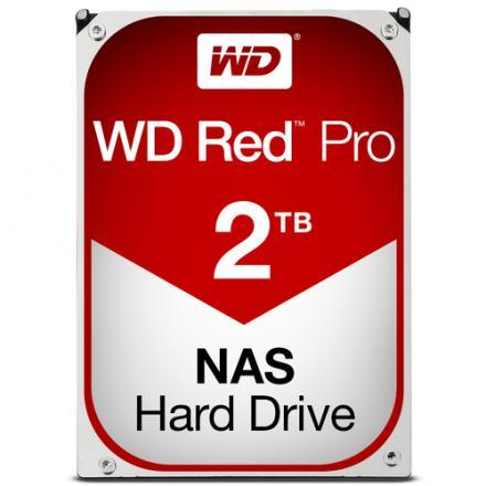 Hd Western Digital 3,5\1 2tb Red Pro Sata 6gb/s 7200rpm 64mb - Imagen 1